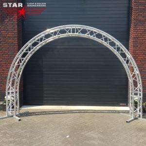 Halve circle truss 4m