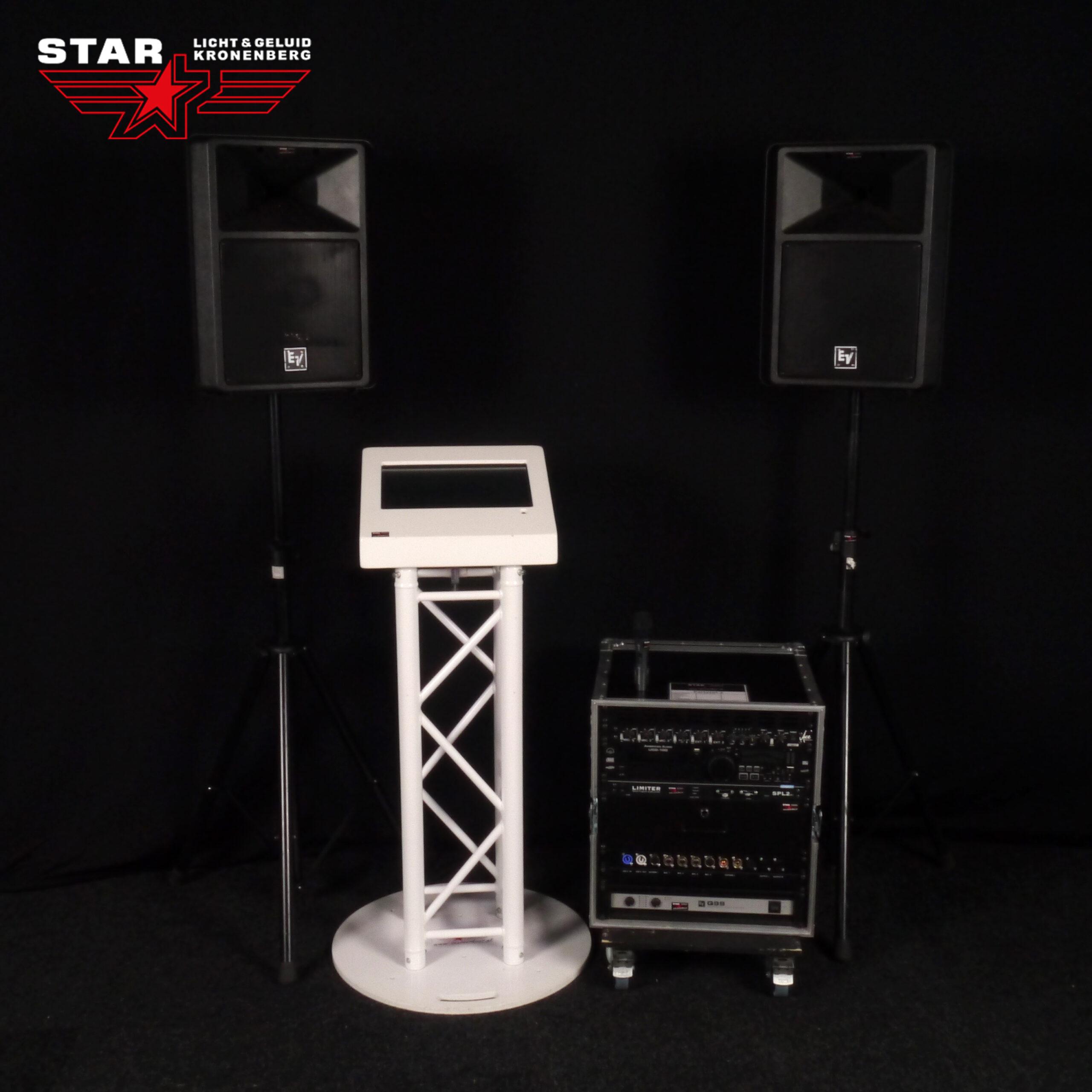 Muziekzuil geluid