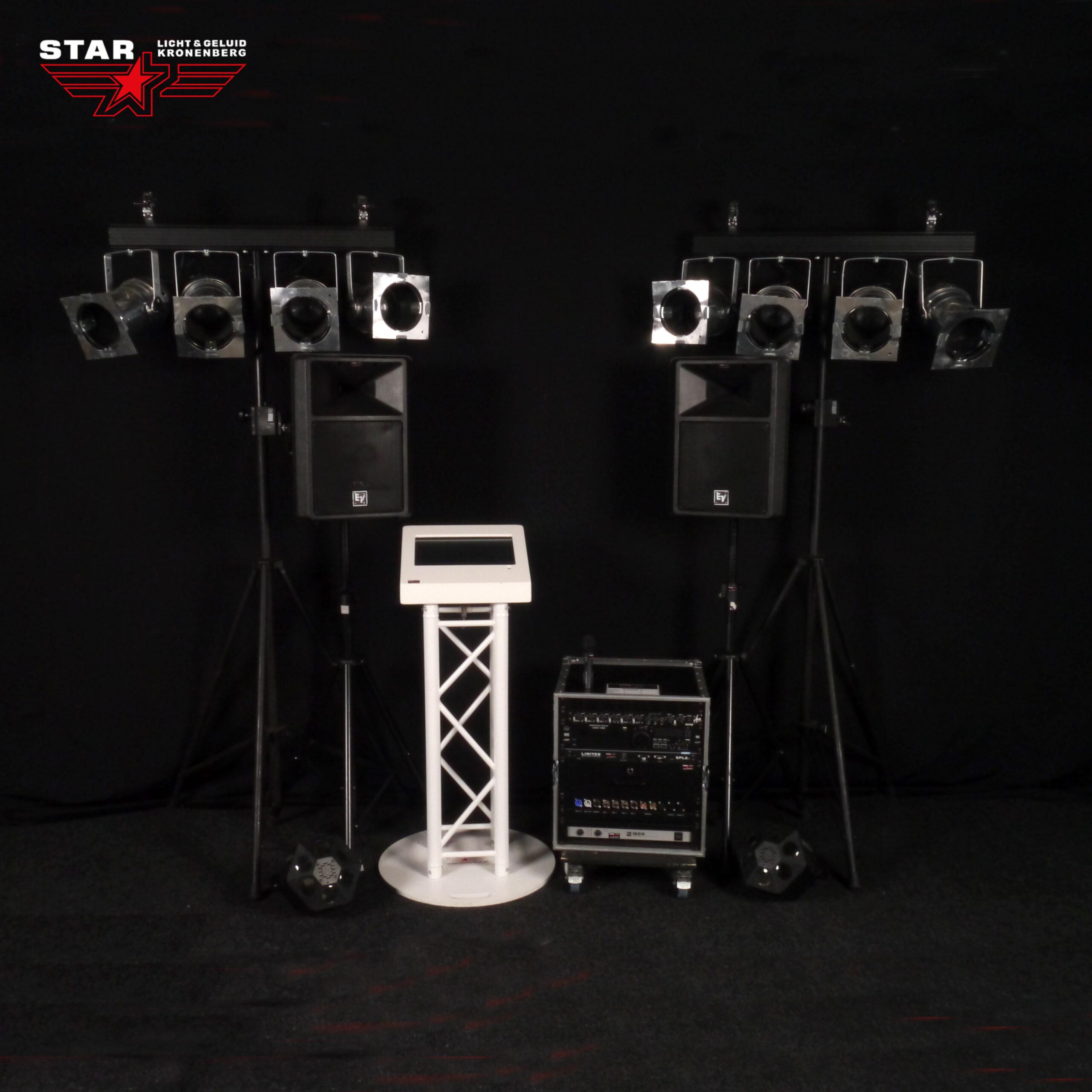 muziekzuil geluid licht